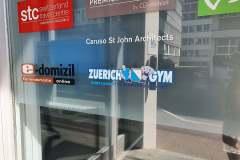 Eingang Zuerich Gym