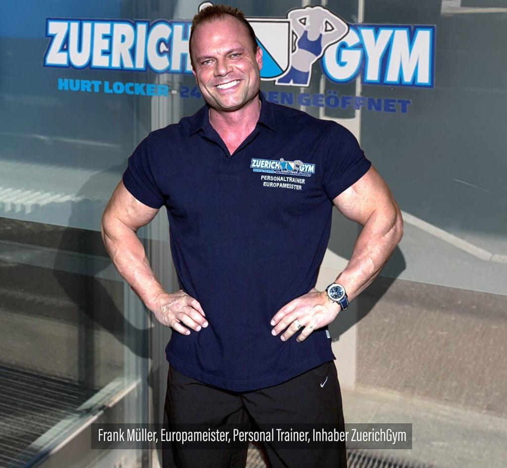 Frank Müller Personaltrainer ZuerichGym